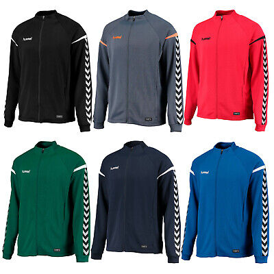 hummel Authentic Charge Polyester Zip Jacke Kinder Handball Volleyball Fußball