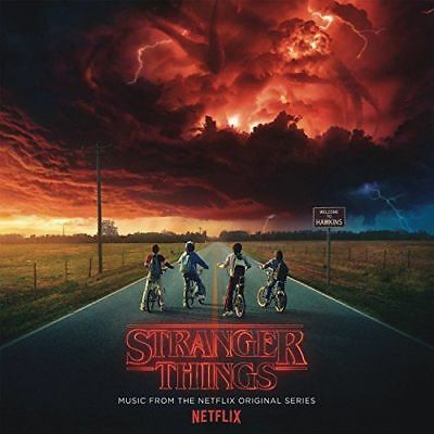 STRANGER THINGS SOUNDTRACK Netflix Original Series CD NEW