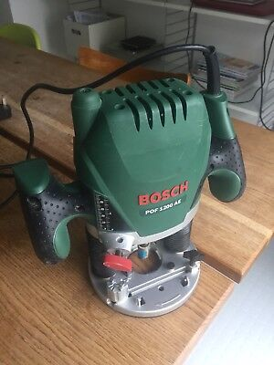 Bosch pof 1200 ae 14 plunge router 240v new and unused complete bosch pof 1200 ae router keyboard keysfo Gallery