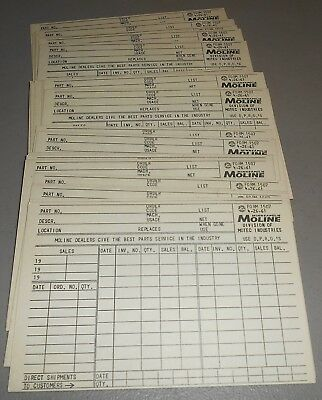 Lot of 25 Minneapolis Moline Form 1507 from 4-26-61