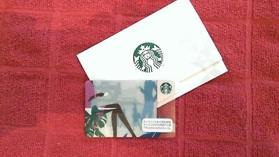 Great Chance! STARBUCKS Japan 2011 TERRACE Gift Card Not Offered Often US Seller