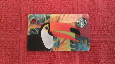 NEW & Sold! Out STARBUCKS Hong Kong Toucan Ramphastos Mini Gift Card US Seller