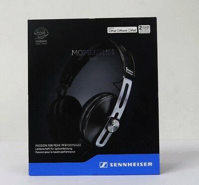 SENNHEISER MOMENTUM 2.0 OVER-EAR iPhone Cuffia chiusa circumaurale Nero