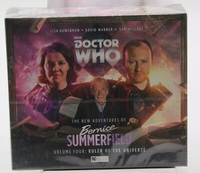 Doctor Who Bernice Summerfield Volume Four: Ruler of the Universe Big Finish CD