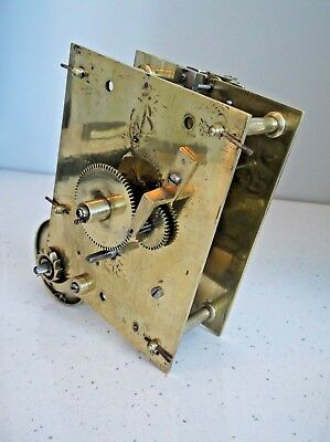 Ex Clock Workshop Closure........8 Day Fusee Movement In Untested Order.