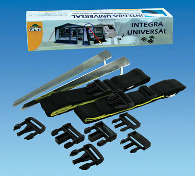 14 Piece Universal Awning Storm Tie Down Strap Kit Caravan Awning Tie Down Kit