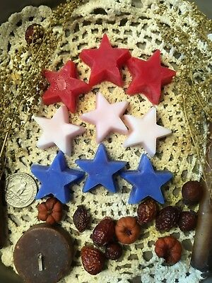 Prim Handmade* Mixed Scented Tarts* Stars #2* Bowl Fillers* Embeds* Americana