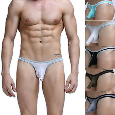 MENS UNDERWEAR G-STRING Elephant Nose Sexy Thongs Briefs Bulge T Back Thin  G11 - £1.79 | PicClick UK