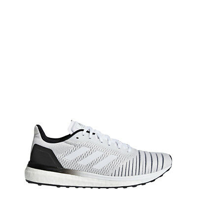ADIDAS WOMEN S SOLAR Drive Running Training Shoes White Boost - Size ... bfbdc147e