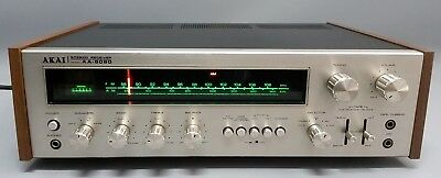 Akai AA-8080 - AM/FM Stereo Receiver - Japan 1973