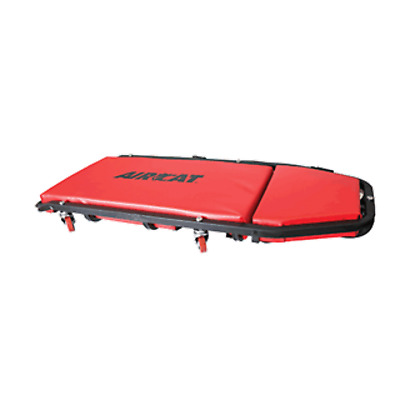 "AirCat 800-C 45"" Creeper with adjustable headrest,LED Flexible light & tool Bag."