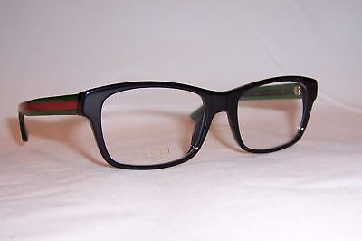 0f093b14fd0c NEW GUCCI EYEGLASSES GG 0006O 006 BLACK GREEN 55mm RX AUTHENTIC 0006