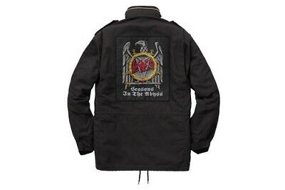 a901382bbca AUTHENTIC FW16 SUPREME X Slayer Eagle M-65 Jacket Size Small -  450.00