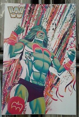 WWE #14 Ultimate Warrior Variant