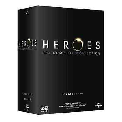 Dvd HEROES - The Complete Series 01-04 - (4 Box 23 Discs) NEW