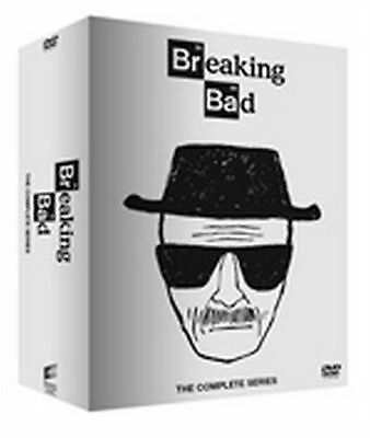 Breaking Bad - The Complete Series Dvd 1-6 (Box 21 Discs) White Edition NEW