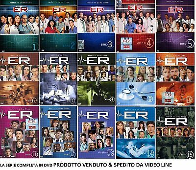 ER E.a. physicians Before Line The Complete Series Stag 01-15 Cof. Individual 49
