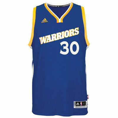 50d516acb08 Golden State Warriors adidas Swingman Jersey Stephen Curry  30 Crossover  Run TMC