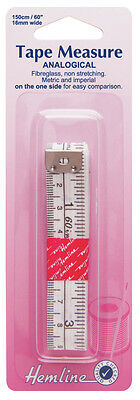 Hemline Analogical Metric And Imperial Tape Measure