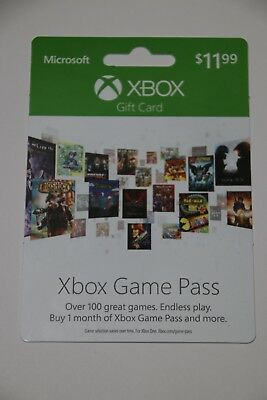 Xbox One 1 month game pass
