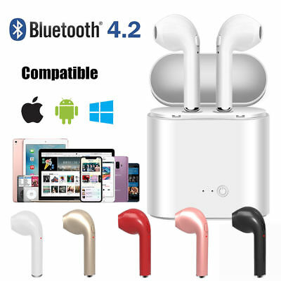 Wireless Earbud Headset Bluetooth Earphone Headphone For iPhone X 8 7 Samsung S9