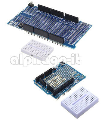 New Prototype Shield ProtoShield V3 Mit Mini Breadboard For Arduino UNO MEGA2560