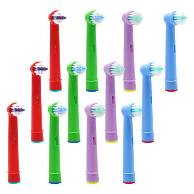 12pcs Electric Replacement Tooth Brush Heads For Oral B EB-10A Pro-Health Kids