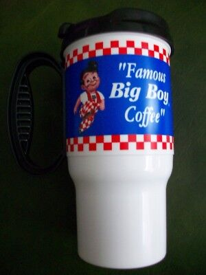 VTG Big Boy Rare Collectible Restaurant Cup Plastic Mug 16 Oz Famous Coffee Ohhh