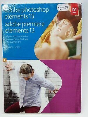 Adobe Photoshop Elements 13 (2014) Retail Edition for Windows And Mac OS