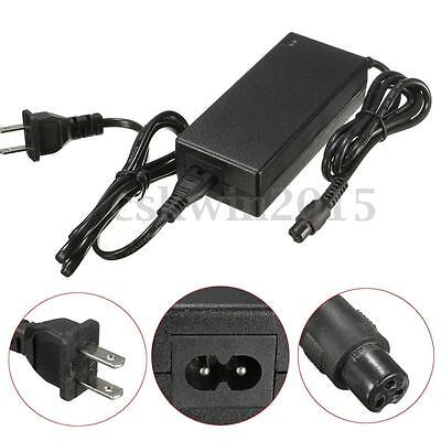 Black 42V Power Adapter Battery Charger 2A 84W For Smart Balance Scooter Wheel