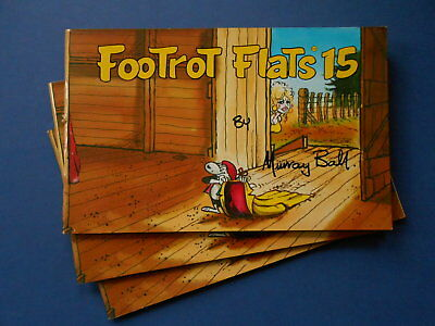 FOOTROT FLATS FIFTEEN /15 by MURRAY BALL - AUSTRALIAN COMIC **1990 FIRST EDITION
