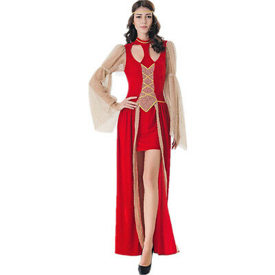 Ancient Greek Goddess Athena Halloween Costume Fancy Party Dress Outfit