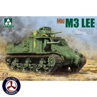 Takom 1/35 US Medium Tank M3 Lee Mid 2089 Brand New