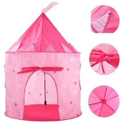 Princess Castle Cute Play house Children Kids Play Tent Toy In/Outdoor For Girls