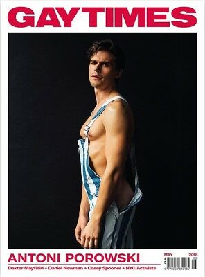 Gay Times Magazine May 2018 Antoni Porowski / Dexter Mayfield / Daniel Newman