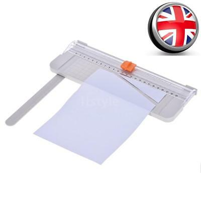 Mini Precision Paper Card Art Trimmer Photo Cutter Cutting Mat Blade Ruler J2L2