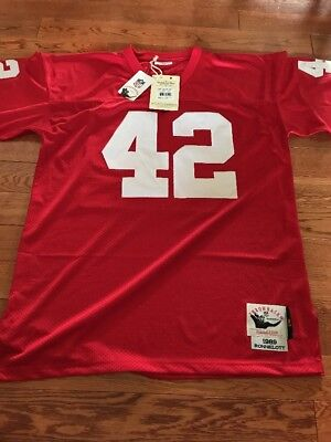 Ronnie Lott San Francisco 49ers Mitchell And Ness Jersey Size 48 XL  Throwback 4b4aa53e0