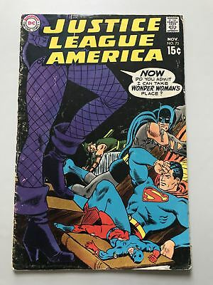 Justice League of America (1960 1st Series) #75 2nd App Green Arrow Costume
