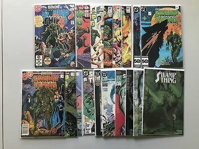 Lot of 18 Swamp Thing (1982 2nd Series) #1-135 3 4 6 7 13 49 VF-NM Near Mint
