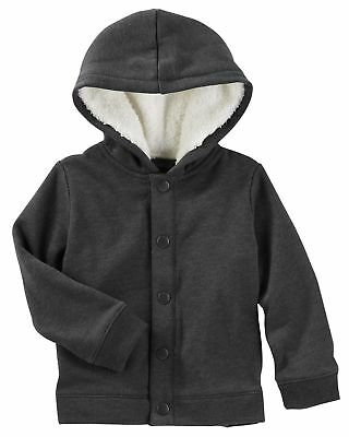 a57cd91724bb OSHKOSH B GOSH BABY Boys  Hooded Fleece Jacket
