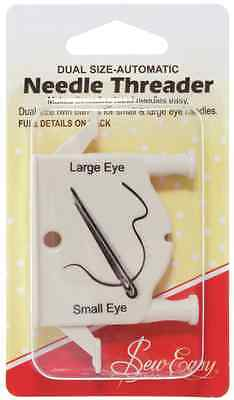 Sew Easy Automatic Needle Threader Dual Size