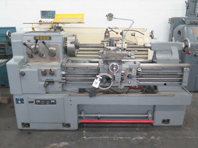 "17""/25"" Swing x 40"" Center Webb Engine Lathe Metal Turning Machine"