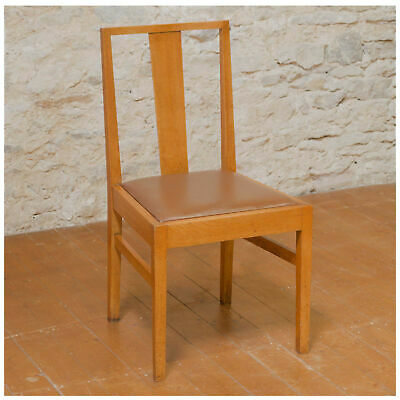 Gordon Russell Arts & Crafts Cotswold School English Oak Chair c. 1935