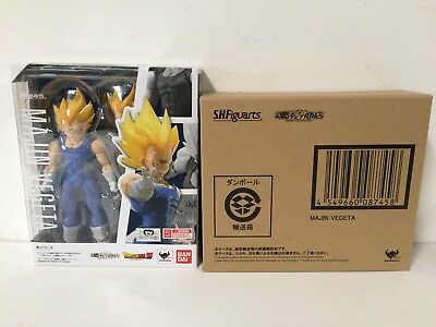 IN STOCK! TAMASHII S.H.Figuarts Dragonball Z Super Saiyan MAJIN VEGETA US SELLER