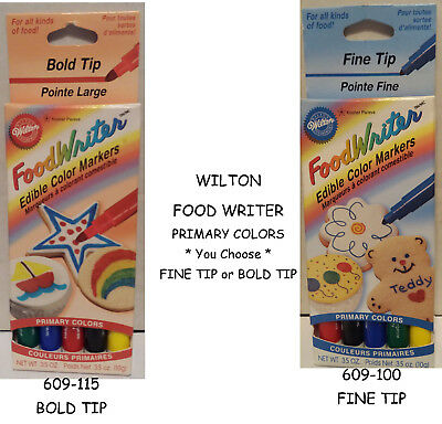 THE ORIGINAL Foodoodler Food Coloring Markers Pens 16pc cake ...