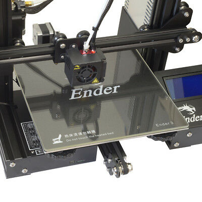 235x235mm Boro Glass Bed for Creality Ender 3 / Ender 5 3D Printer (4mm thick)