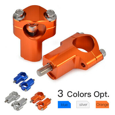 28mm Handlebar Support Clamp Riser 52mm Height for KTM 150-530cc SX EXC XC SX -F