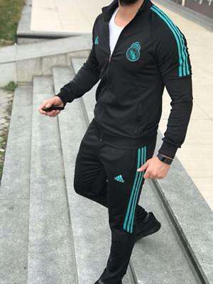 REAL MADRID ADIDAS Trainingsanzug 2018 Pes Bench Version Größe.XL