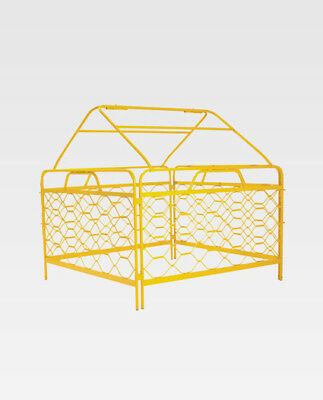 4 Sided Mesh Pit Guard With Tent Top - TELSTRA NBN