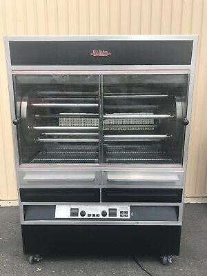 Old Hickory N7.7G, Natural Gas, Large Batch, Rotisserie Oven.